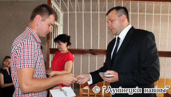 Photo of Нароўні з суддзямі