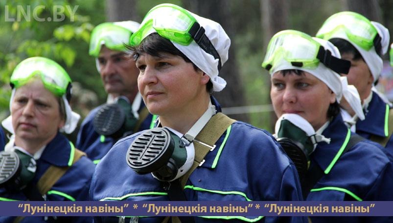 Photo of На Лунинетчине прошли соревнования санитарных дружин