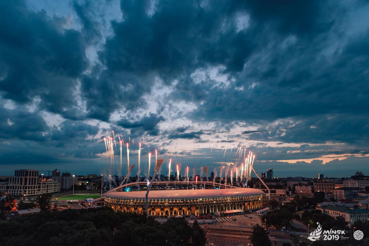 Photo of В Минске состоялась церемония открытия II Европейских игр