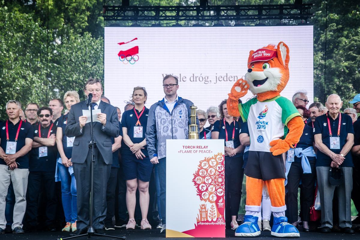Photo of II Европейские игры презентованы на Олимпийском пикнике в Польше