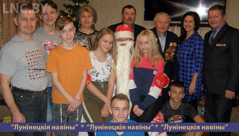 Photo of Воспитанников детских домов поздравили с наступающими праздниками