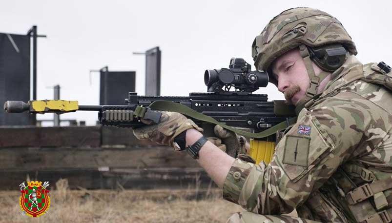 Photo of В Витебске белорусские военные тренируются вместе с британскими