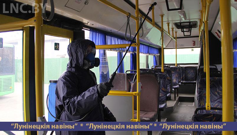 Photo of В автопарке №10 ведут постоянную работу по дезинфекции автобусов