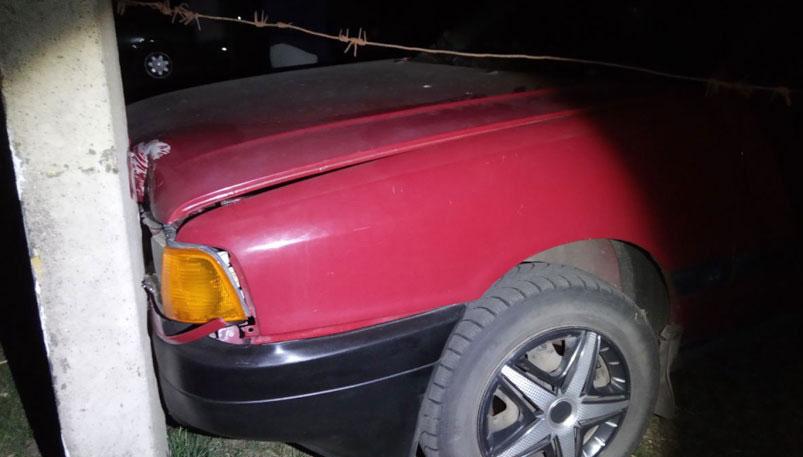 Photo of Пьяная жительница Лунинца угнала легковушку и попала в ДТП