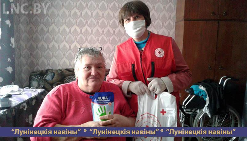 Photo of Красный Крест продолжает оказывать помощь одиноким пожилым и людям с инвалидностью