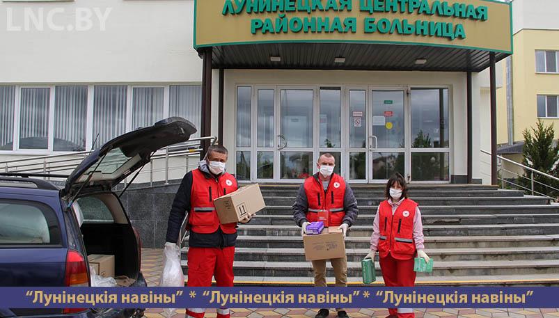Photo of Гуманитарный груз поступил в Лунинецкую больницу