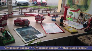 Photo of В библиотеке организована выставка детского творчества «Спасатели глазами детей»