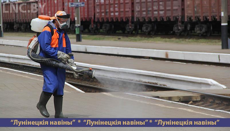 Photo of В Лунинце усилена санитарная обработка поездов