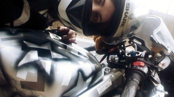 Photo of Мотоциклистка: «Собственный байк у меня появился раньше, чем получила права на управление им»