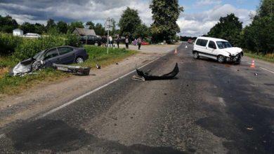 Photo of В Лунинецком районе в ДТП пострадал водитель