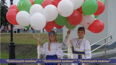 Photo of Торжественное открытие фонтана дало старт празднованию Дня Республики в Микашевичах