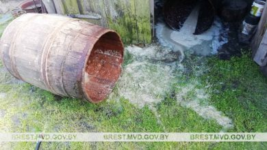 Photo of 550 литров браги уничтожено в Лунинецком районе