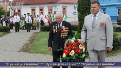 Photo of День Независимости отмечают на Лунинетчине