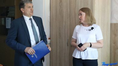 Photo of Министр информации посещает Барановичи