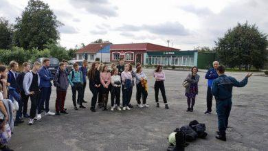 Photo of Школьники посетили пожарную аварийно-спасательную часть в Микашевичах