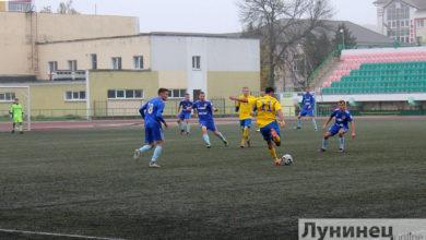 """Photo of Матч """"Гранит"""" – """"Нафтан"""" прошел на стадионе """"Полесье"""""""