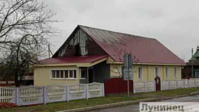 Photo of Здание автошколы горело в Микашевичах