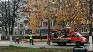Photo of Фотофакт. Новая дорожная разметка появилась на Первомайской в Микашевичах