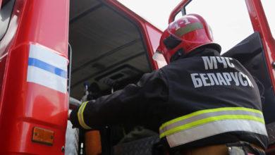 Photo of В Лунинце горел микроавтобус «Volkswagen Transporter»