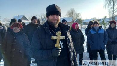 Photo of Где лунинчане окунались на Крещение?
