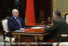 Photo of Лукашенко обсудил с Министром обороны замысел белорусско-российского учения «Запад-2021»