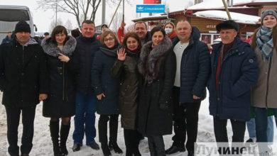 Photo of Фотофакт. Лунинецкая делегация отправилась на Всебелорусский народный форум