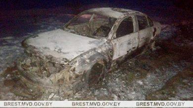 Photo of Житель Дятлович угнал автомобиль, попал в ДТП и сбежал с места происшествия. Машина сгорела