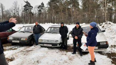 Photo of Зимнее авторалли провели в Микашевичах