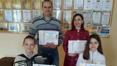 Photo of Лунинецкие школьницы стали лауреатами международного конкурса «Палитра звезд»