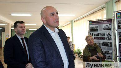 Photo of Марат Марков посетил СШ №2 г. Лунинца