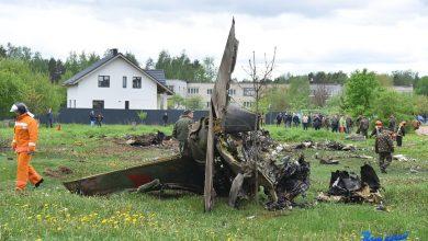 Photo of В Барановичах упал военный самолет