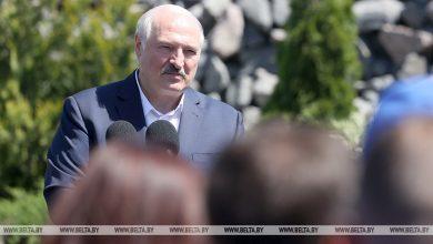 """Photo of Лукашенко – работникам """"Гранита"""": дорога Кобрин – Гомель будет реконструирована"""