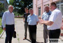 Photo of Григорий Протосовицкий встретился с трудовым коллективом Полесской опытной станции