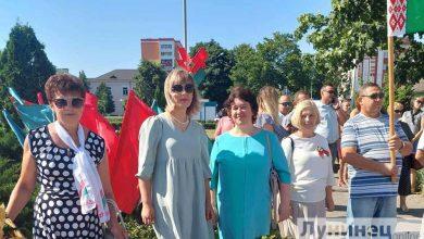 Photo of Лунинец празднует День города
