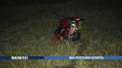 Photo of Пьяный житель Микашевич на мотоцикле попал в аварию
