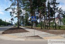 Photo of Более 100 метров современного тротуара появилось в Микашевичах