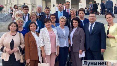 Photo of В Республиканском педсовете участвовали и лунинчане