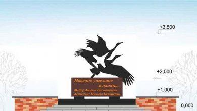 Photo of Эскиз памятного знака погибшим летчикам утвердили в Барановичах