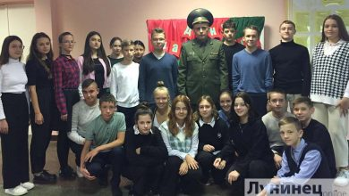Photo of Военнослужащие побывали в СШ №4