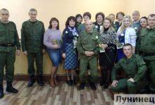 Photo of Нотку тепла в жизнь по уставу внесли военнослужащие войсковой части 65408 из Лунинца