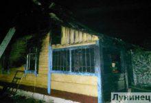 Photo of В Дребске горел дом, хозяин погиб