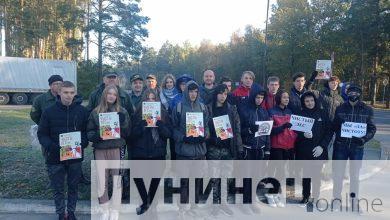 """Photo of Микашевичи присоединились к республиканской акции """"Чистый лес"""""""